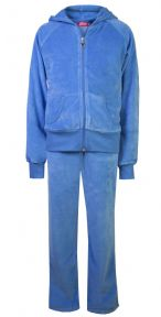 Love Lola Children's Velour Tracksuits Sky Blue #worldbookday